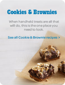 Cookie and Brownie Recipes
