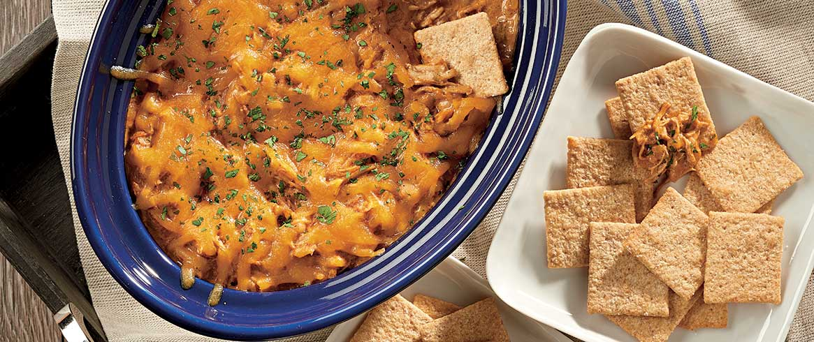Slow-Cooker Creamy White Chicken Chili Dip