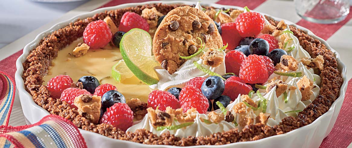 CHIPS AHOY! Lime & Berry Tart