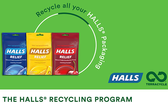 HALLS TerraCycle