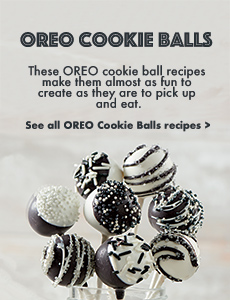 OREO Cookie Ball Recipes
