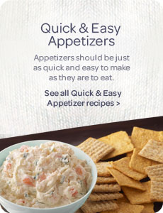 Quick & Easy Appetizer Recipes