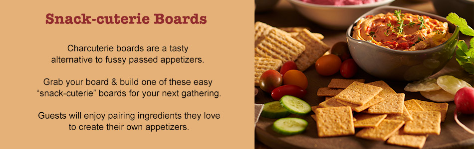 Snack-cuterie Boards