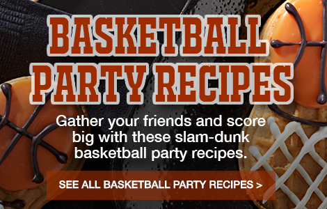 Basketball Party Recipes